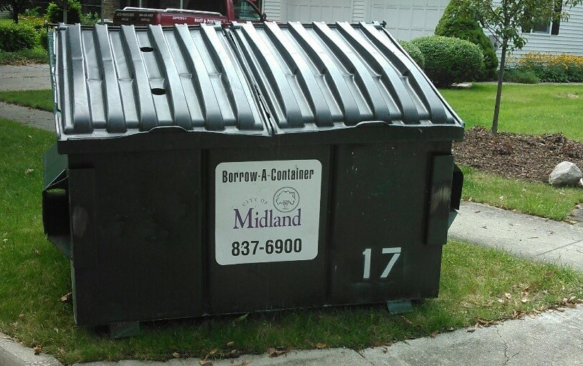 Borrow A Container image of a dumpster