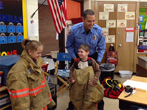 Firefighter Mark Laux - Public Schols - Oct2014