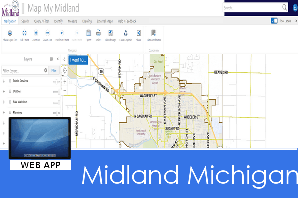 GIS Mapping Applications | Midland, MI - Official Website