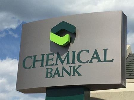 Chemical Bank sign