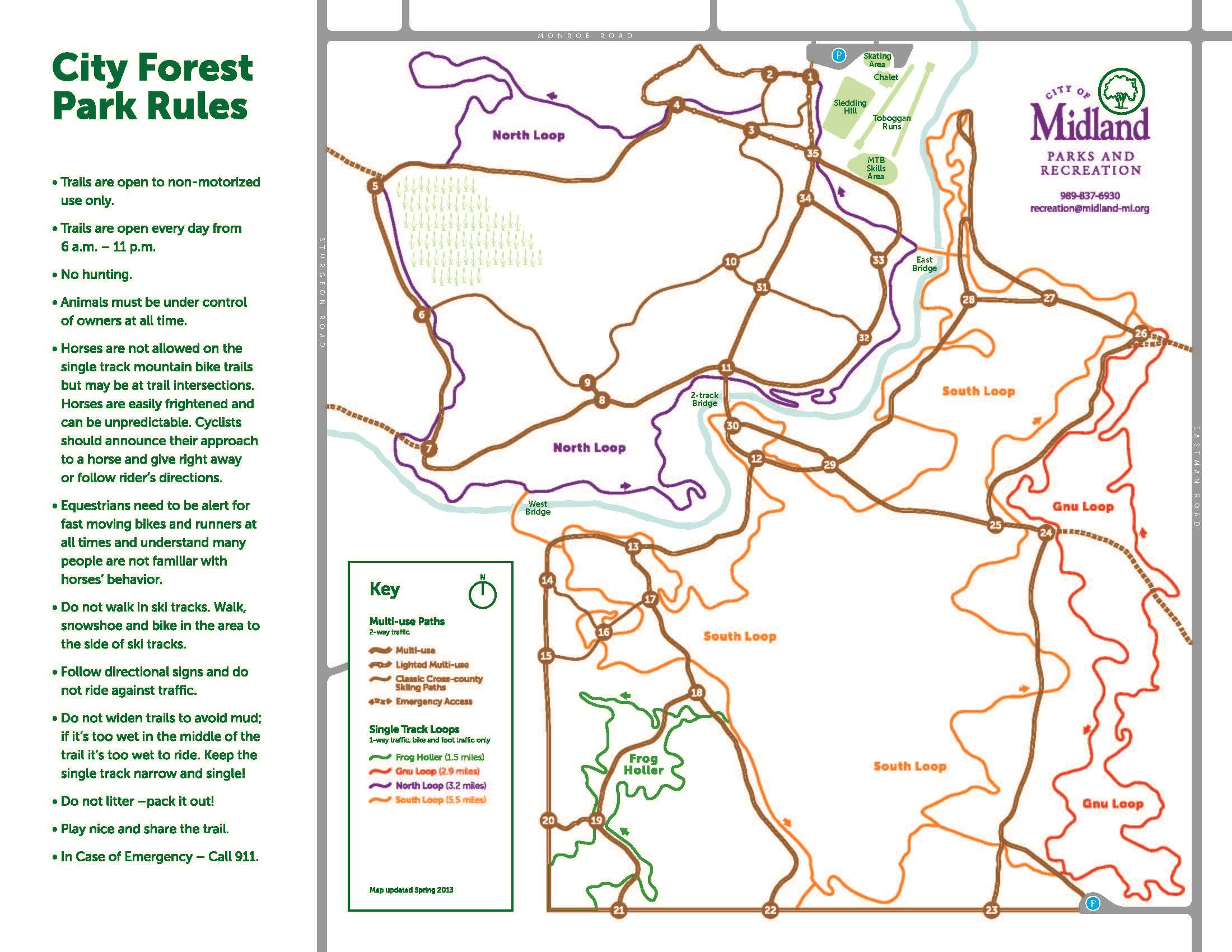 City Forest Izone Map