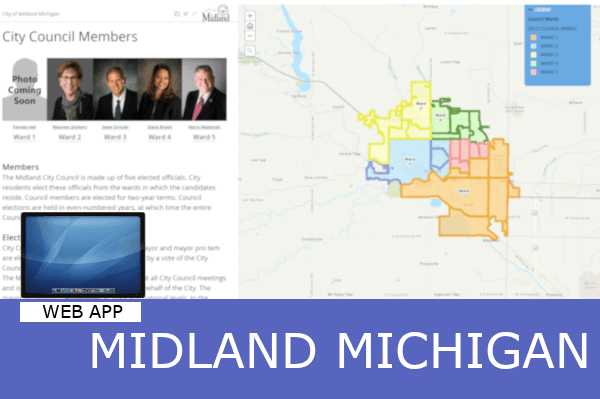 Gis Mapping Applications Midland Mi Official Website