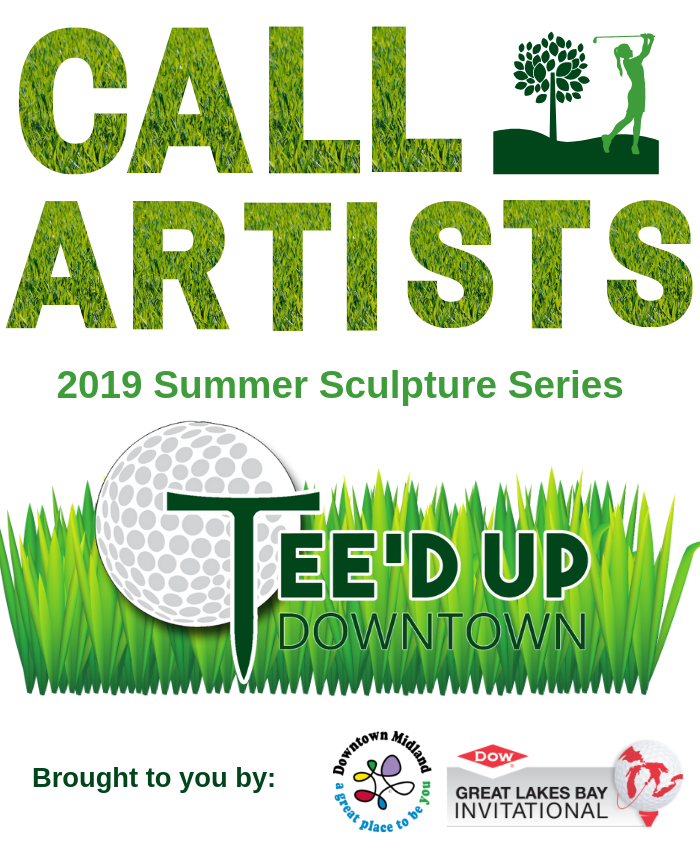 A call for artists for the 2019 Downtown Midland Summer Sculpture Series
