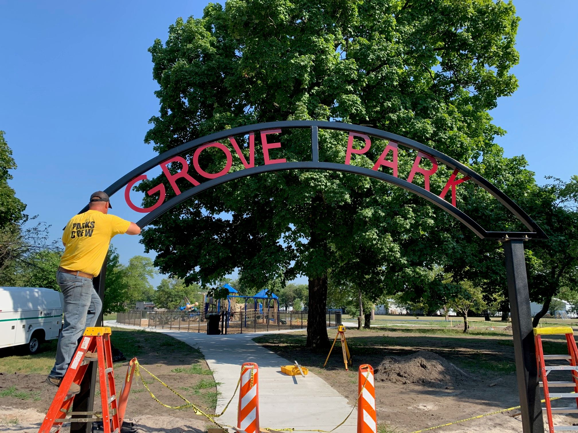 Grove Park Phase 1 Renovations