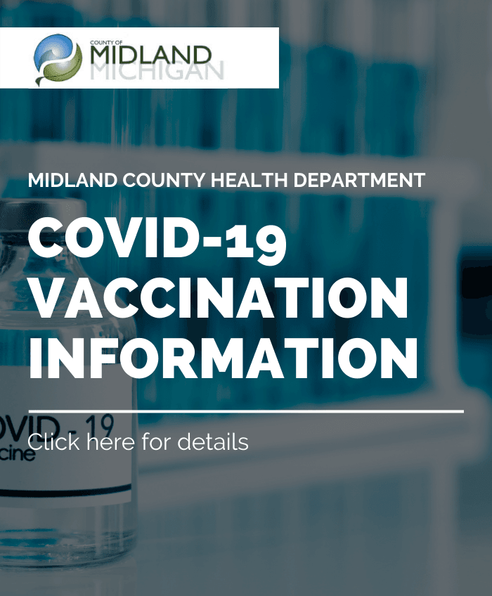 Graphic details COVID-19 vaccination information from the Health Department