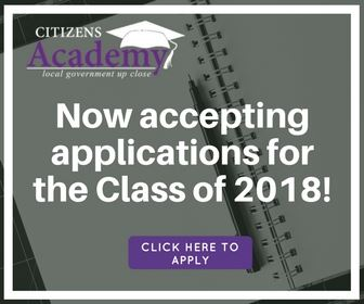 Citizens Academy 2018 ad