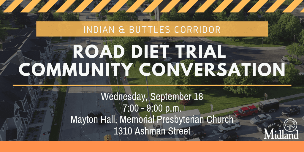 Road diet community conversation on September 18