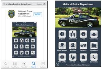 Police Department App