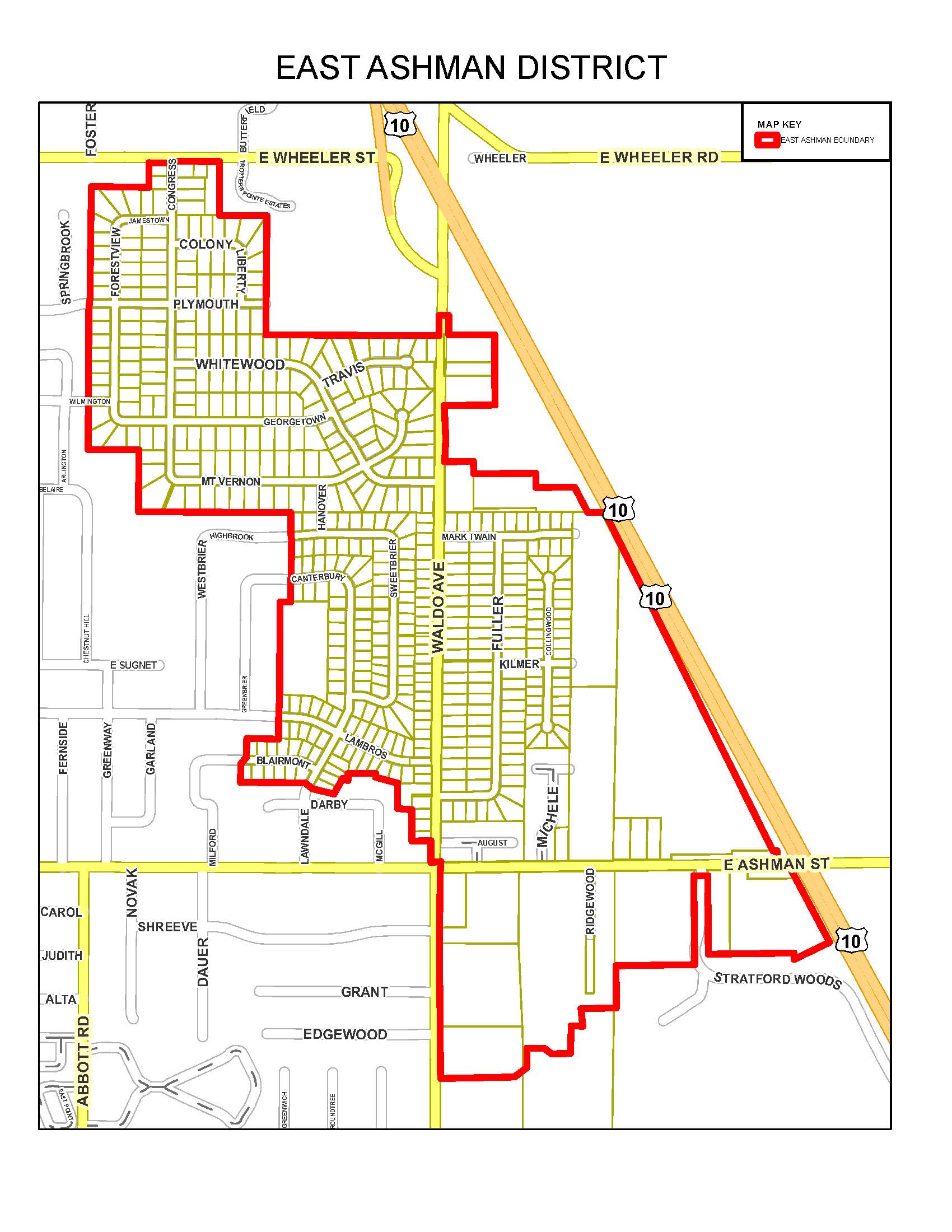 Sewer smoke testing map